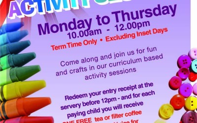 Curriculum Based Activity Sessions –  No Extra Charge during Term Time Only