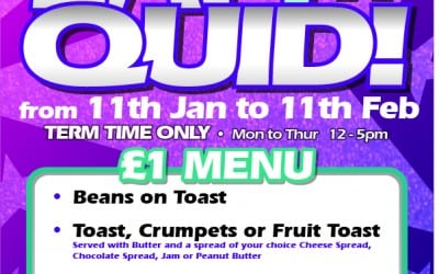 Kidz Eat 4 a Quid is Returning – 11th January – 11th February 2016