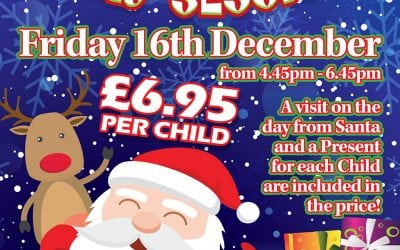 Christmas Play Session with a visit from Santa – Friday 16th December 4.45 – 6.45pm