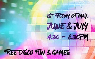 Disco Fever Friday's – First Friday in May, June & July