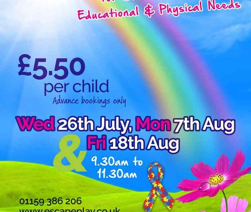 Inclusive Play Sessions for Children with Special Educational & Physical Needs :)