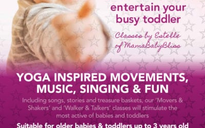 Mama Baby Bliss – New Class at Escape!