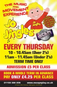 Jo Jingles POSTER MARCH 18 thurs only