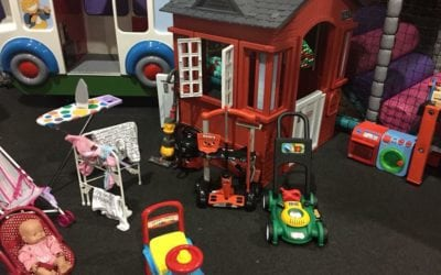 Role Play Area, Baby Bouncers, Floor Piano and Much More…..