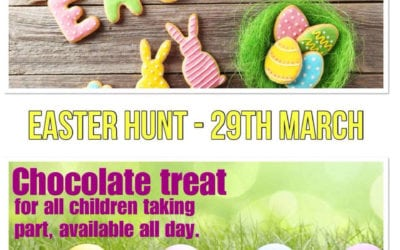 Escape's Easter Hunt…….. Come and Join in, it's FREE Fun!