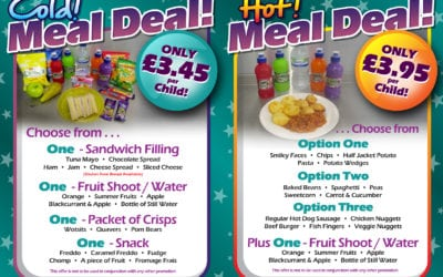 Escape's Meal Deals – Too busy playing…. why not take a cold meal deal away with you!