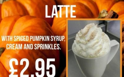 NEW – Spiced Pumpkin Latte
