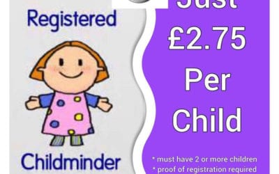 Childminder Offer at Escape!
