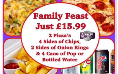 Family Feast…. Go on Treat Yourselves!