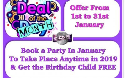 Party Deal of the Month!