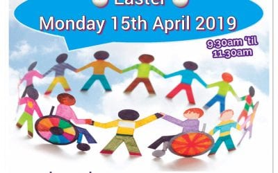 Dont forget our Inclusive Play Session on 15th April 2019 – 9.30am to 11.30am