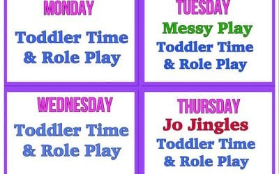 Weekly Activities Timetable