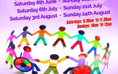 NEW DATES – Inclusive Play Session… Summer Weekend Dates, May to August 2019