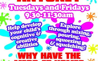 Messy Play – Back this Tuesday – 25th February 2020!