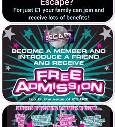 Become a Member at Escape