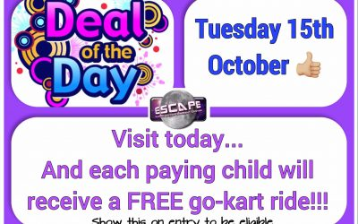 Deal of the Day – Thursday 15th October 2019