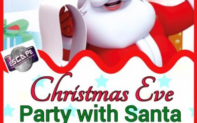 Disco with Santa on Christmas Eve at Escape