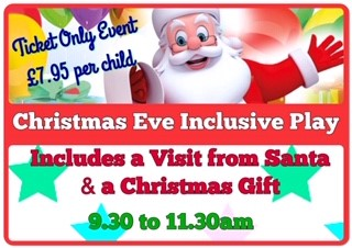 SEND Inclusive Play on Christmas Eve (Ticket Event)